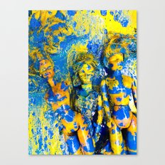 Doll Collective Canvas Print