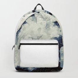 Polygonal Bald Eagle Backpack