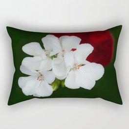 Geranium as art Rectangular Pillow