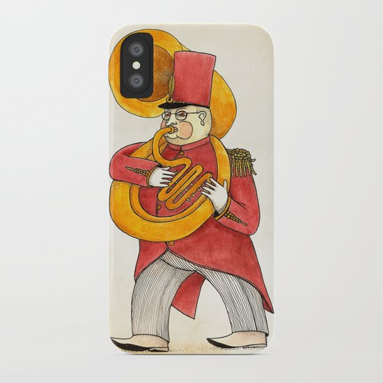 García, tuba iPhone Case