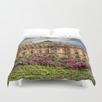 theatre Duvet Covers featuring Slowacki Theatre in Cracow by jbjart
