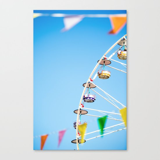 Manege sky colour Canvas Print