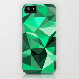 Emerald iPhone Case