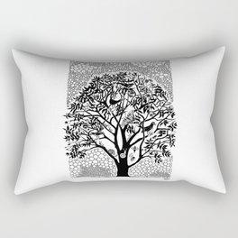 NOT just a Tree Rectangular Pillow
