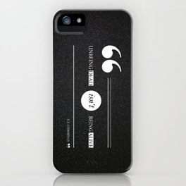 Dead or alive iPhone Case