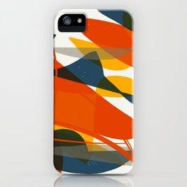 Abstract Bird iPhone Case