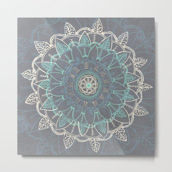 Zenful Mandala Metal Print