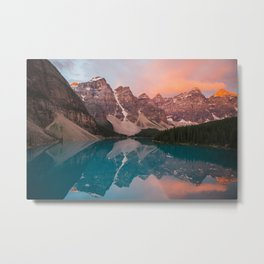 Moraine Lake, Canada Metal Print