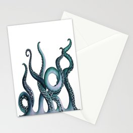Kraken Teal Stationery Cards