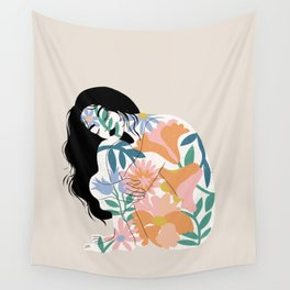 you are a flower Wall Tapestry