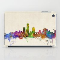 milwaukee iPad Cases featuring Milwaukee Wisconsin Skyline Cityscape by artPause