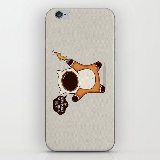 I May Be Awesome, but... iPhone & iPod Skin
