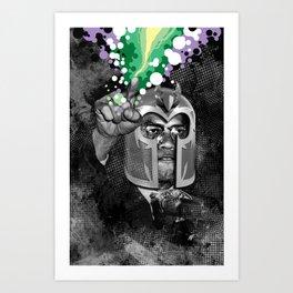 MAGNETO X Art Print