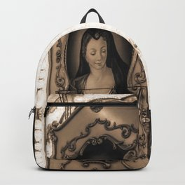 The Carousel in Florence Backpack