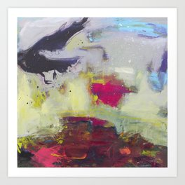 Listen to the Crows #5 Art Print