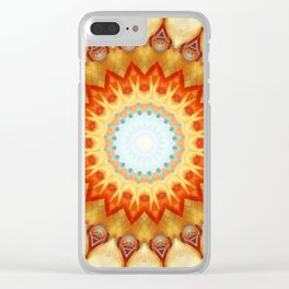 Mandala magnificence Clear iPhone Case