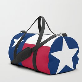 State flag of Texas, official banner orientation Duffle Bag