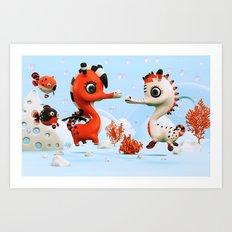 Sea Love Art Print