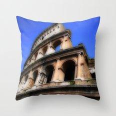 Colosseum - Rome, Italy Throw Pillow