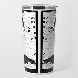 Singularity Android Art Nouveau Travel Mug