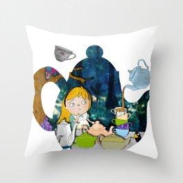 alice #3 Throw Pillow