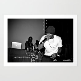 Live from New Jet City: Curren$y pt. 2 Art Print