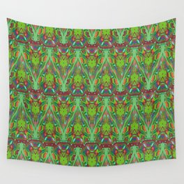 Abstract feathers 1c Wall Tapestry