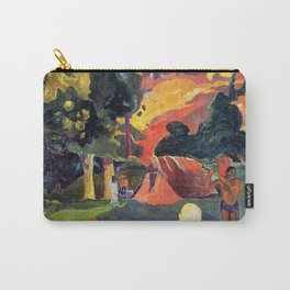 """Paul Gauguin """"Landscape with Peacocks"""" Carry-All Pouch"""