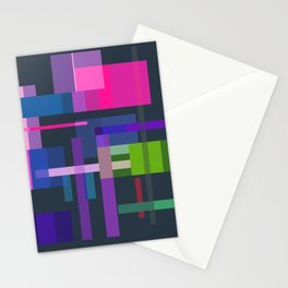 Imitation Mid-20th Century Abstraction, No. 3 Stationery Cards