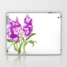 purple larkspur Laptop & iPad Skin