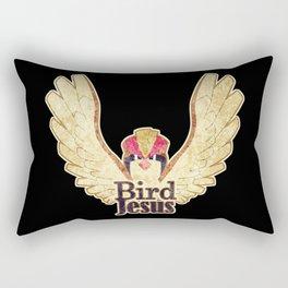Bird Jesus Rectangular Pillow