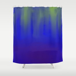 Deep Sea Reflections Shower Curtain