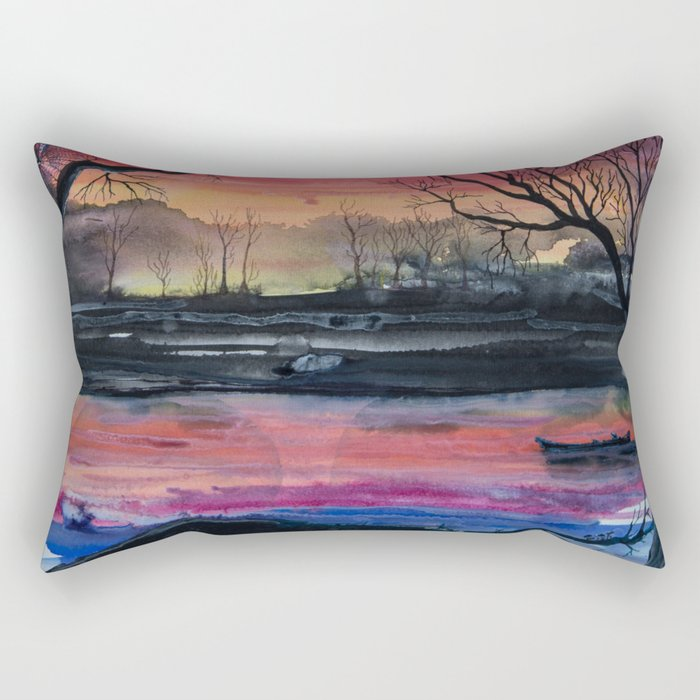 Swamp Rectangular Pillow