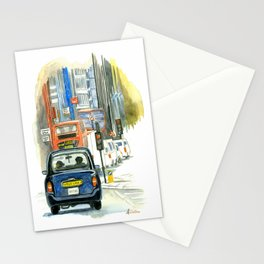 Morning Rush Stationery Cards