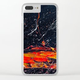 vesuvius Clear iPhone Case