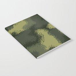 MPat Camouflage Pattern Notebook