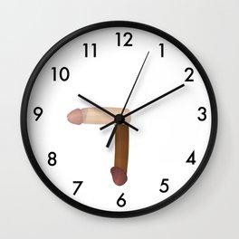 TICK TOCK DICK COCK KLOCK Wall Clock