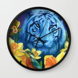 Fancy like a Tiger Wall Clock