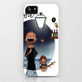 Lisboa Menina e Moça iPhone Case