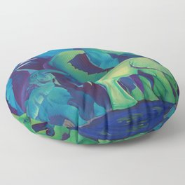 Blue Dreams Floor Pillow