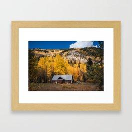 Beginnings of Autumn Framed Art Print