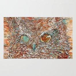 The Odd-Eyed Owl Rug