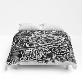 Zentangle Fishes! Fishes! Fishes! Comforters