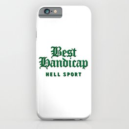 Best Handicap iPhone Case