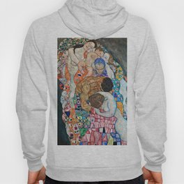 Gustav Klimt - Death And Life Hoody