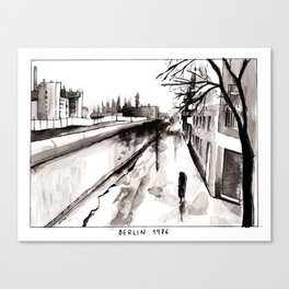 Berlin 1986 Canvas Print