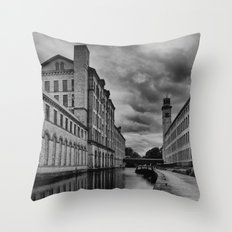 Yorkshire Mills Throw Pillow