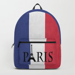 Grunge Paris Backpack
