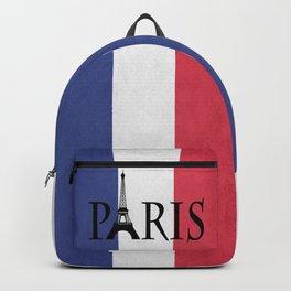 Grunge Paris Backpack