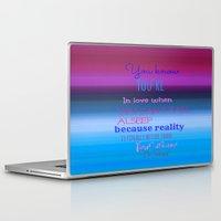 dr seuss Laptop & iPad Skins featuring Dr. Seuss Quote by Laura Santeler